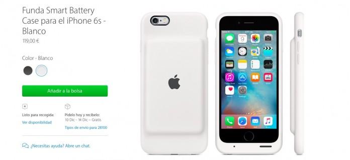 iPhone 6 funda con batería