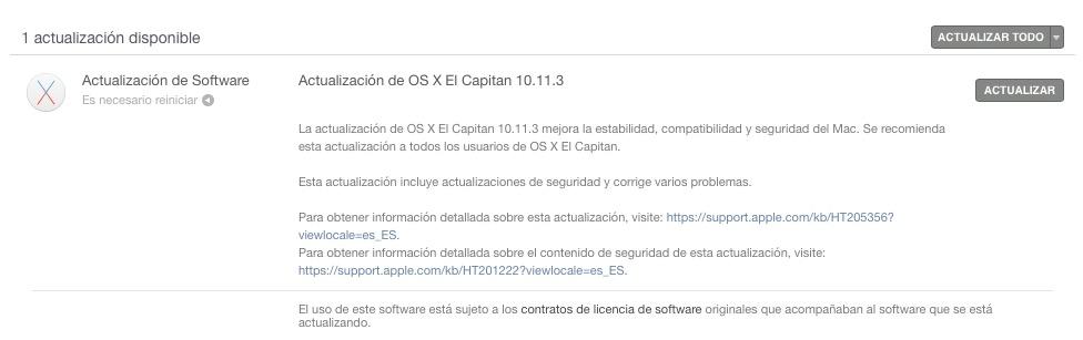 OS X 10.11.3