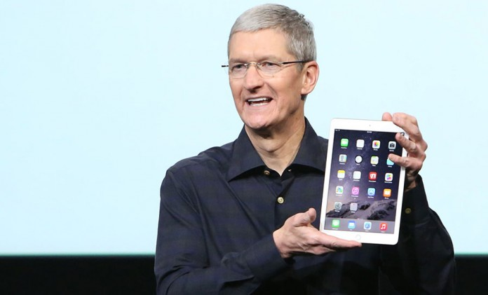 Tim Cook iPad Air 3 evento en marzo