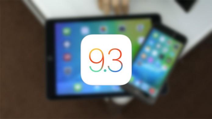 iOS 9.3 beta 2 novedades