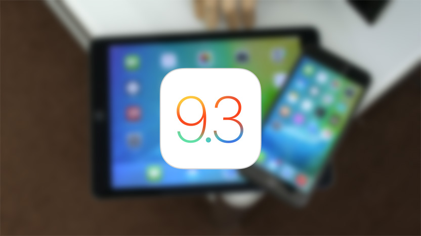 iOS 9.3.1 disponible