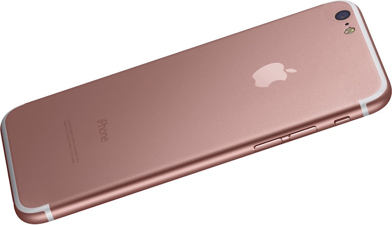 Posible apariencia iPhone 7