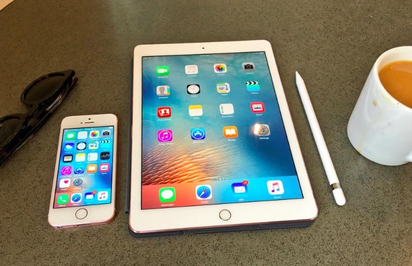 iPhone SE y iPad Pro de 9,7 tienen 2 GB de memoria RAM