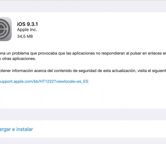 iOS 9.3.1
