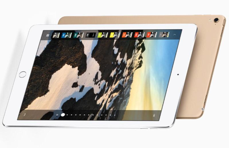 iPad Pro 9,7 camara