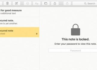 Cómo proteger notas con contraseña en OS X