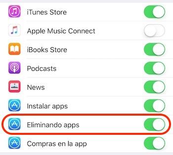 Restricciones-iOS
