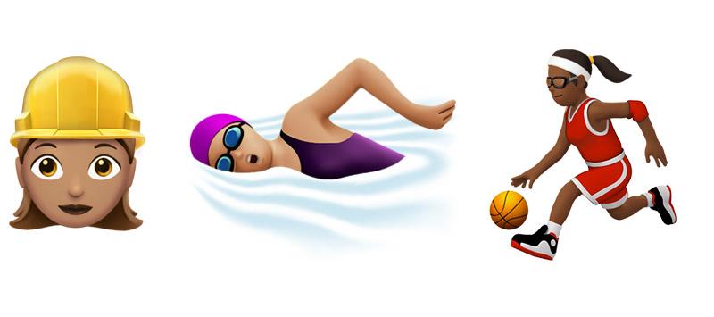 Emojis en iOS 10