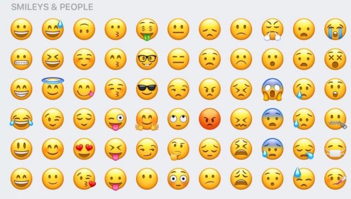 Nuevos emojis en ios 10