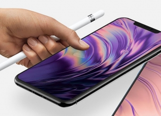 Apple Pencil en el iPhone 2018